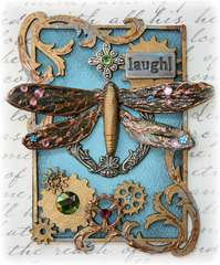 SteamPunk ATC **Dusty Attic & Bo Bunny**