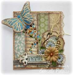Bo Bunny Blog hop!! For World Cardmaking Day!