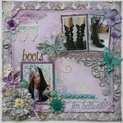 Boots for Bella **TCR #75**