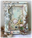 Nautical/Beach Canvas with VIDEO TUTORIAL **GRAPHIC 45 Guest Designer**