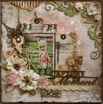 Capture The Moment **The Scrapbook Diaries ~ Video Tutorial & Kit Page**