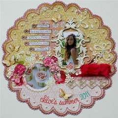 Chloe's Summer 2011 **Websters Pages & Dusty Attic**