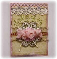 Thinking of You Card **Websters Pages & CardMaps**