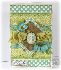 Card **Websters Pages & CardMakers Magazine Blog Hop**