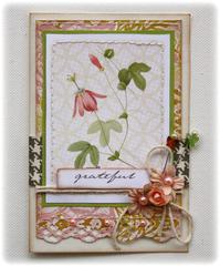 Card made with NEW Websters Pages Modern Romance Collection!