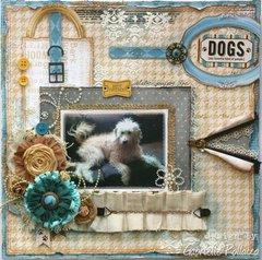Dogs ~ Happy Tails **NEW Bo Bunny**