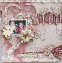Memories **The Scrapbook Diaries & Maja Design**