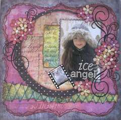 Ice Angel  **Scrapbooking & Beyond Magazine**