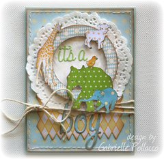 It's a Boy! Card **Webster's Pages Design Team*