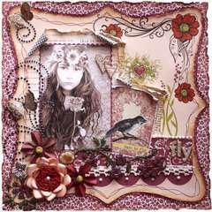 Fly  ***MY CREATIVE SCRAPBOOK**