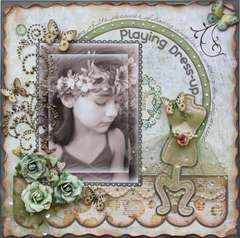 Playing Dress-up  ***MY CREATIVE SCRAPBOOK***