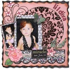 Li'l Diva  ***MY CREATIVE SCRAPBOOK***