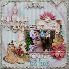 Li'l Pixie **SCRAPS OF ELEGANCE KIT**