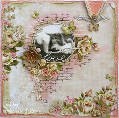 Love **Page Kit & Video Tutorial - THe Scrapbook Diaries**