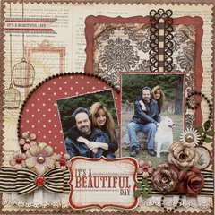 It's a Beautiful Day **MY CREATIVE SCRAPBOOK**