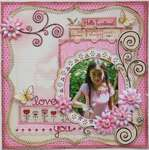 Love You **MY CREATIVE SCRAPBOOK & BO BUNNY**