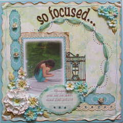 So focused...  **My Creative Scrapbook**