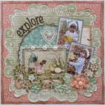 Explore **MY CREATIVE SCRAPBOOK**