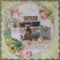 Serene  **MY CREATIVE SCRAPBOOK & NEW PRIMA**