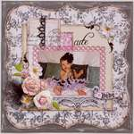 Cute Bebe **MY CREATIVE SCRAPBOOK**