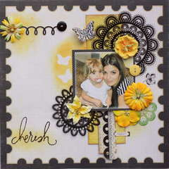 Cherish **MY CREATIVE SCRAPBOOK**