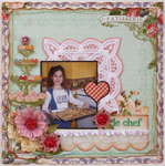 Le Chef **MY CREATIVE SCRAPBOOK**