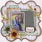 Happy  **MY CREATIVE SCRAPBOOK**