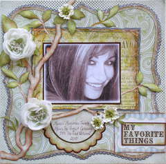 My Favorite Things **MY CREATIVE SCRAPBOOK**