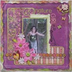 Nature Girl  ***MY CREATIVE SCRAPBOOK***