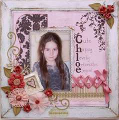 Chloe  ***MY CREATIVE SCRAPBOOK***