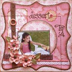 Dessert First  ***MY CREATIVE SCRAPBOOK***