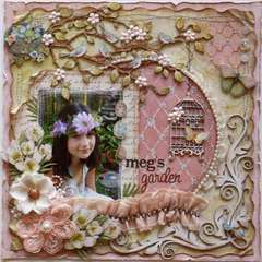 Meg's Garden *Dusty Attic Design Team**
