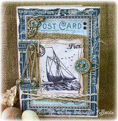 Nautical Card **GRAPHIC 45 Guest Designer**