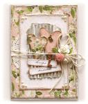 Hugs & Kisses Card **Websters Pages 'New Beginnings'**