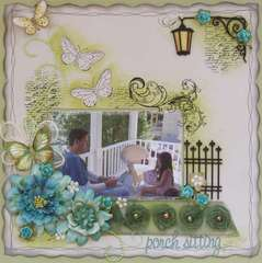 Porch Sitting ***Dusty Attic***