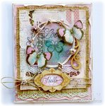 Love Card **Bo Bunny Primrose & Kraftwood**