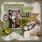 Smile **Bo Bunny's Mama-razzi2 & Background Stamps!**