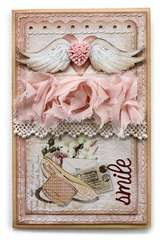 Smile Card **Websters Pages Western Romance**