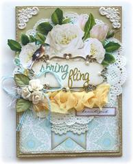 Spring Card **Websters Pages 'New Beginnings'**