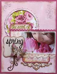 The Scent of Spring  **Dusty Attic & Page Maps** and CONTEST!!!