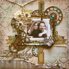 Together **Scrapbook Diaries Page Kit & Tutorial**