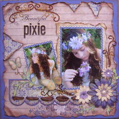 Beautiful Pixie
