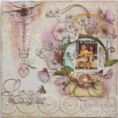 Love & Laughter **The Scrapbook Diaries ~ NEW Kit!**