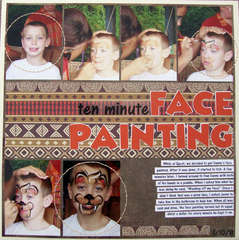 Ten Minute Face Painting