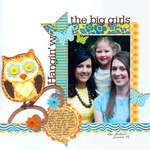 hanging with the big girls by kay rogers for sassafras