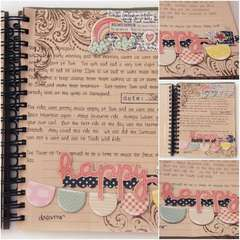 Happy - Journal pages