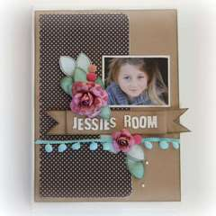 jessies Room canvas  by Rachel Tucker
