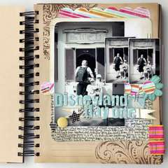 Disneyland Day 1 USA mini album by Rachel Tucker