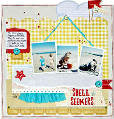 Shell seekers *Fancy Pants*