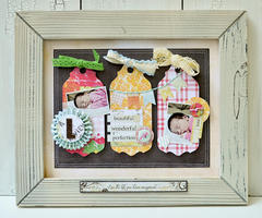 Framed Tag Home Decor
